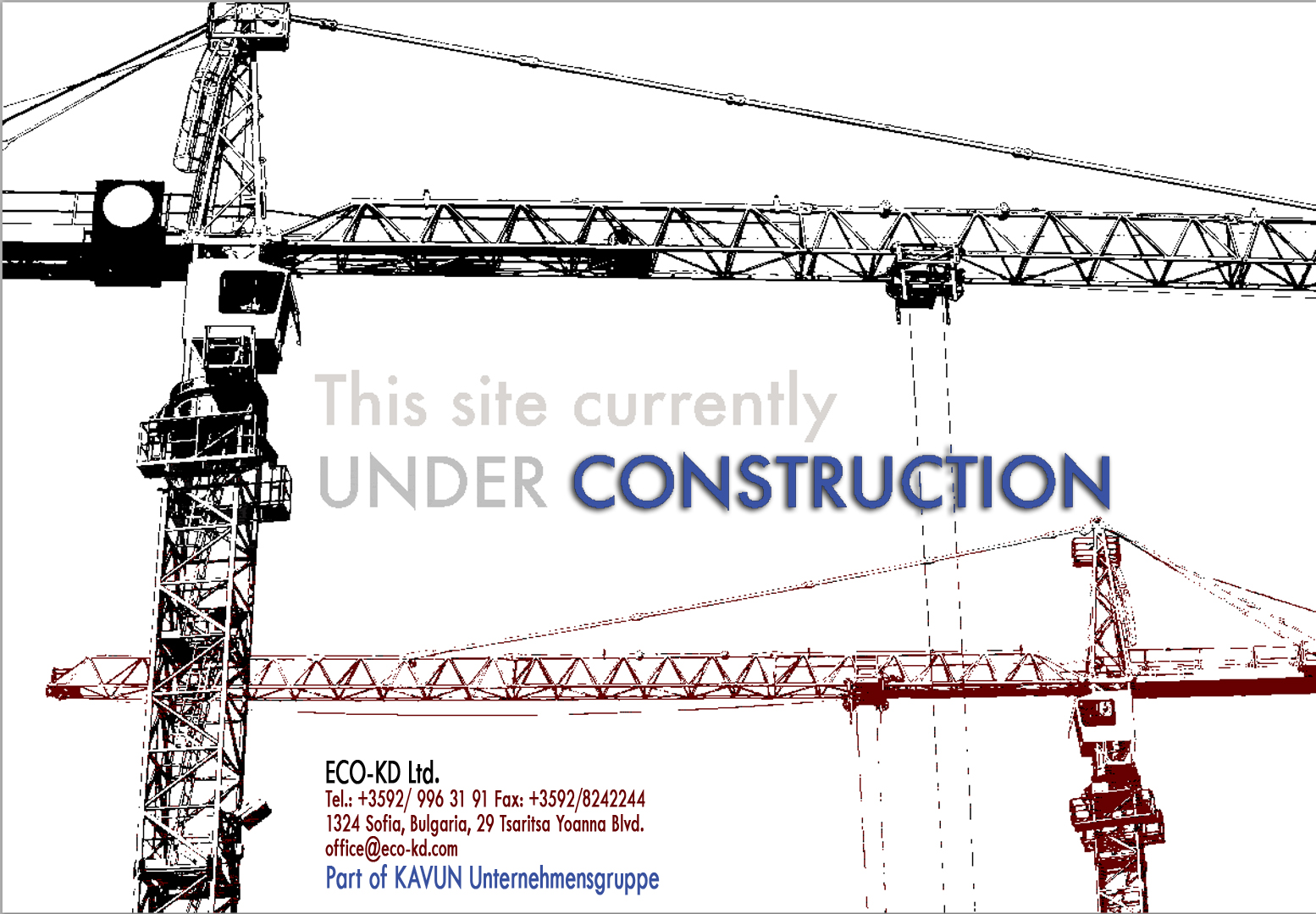 The site is under construction